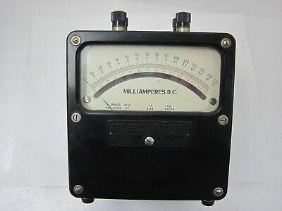 Weston Model 921 1.5 15 150 Dc Milliamperes Tested Ok Vary Nice Meter A-5