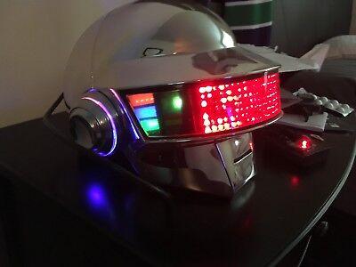 Daft Punk Thomas Full Led Helmet for sale  Renton