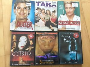 DVD and TV series