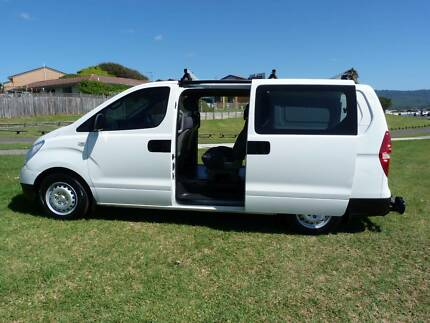 2009 Hyundai iLoad CREW CAB 6 seater, Turbo Diesel, 197k, Manual, Fairy Meadow Wollongong Area Preview