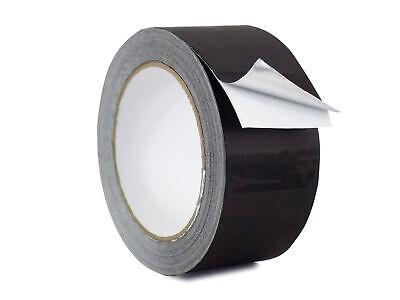 Wod Aluminum Foil Tape Black Matte - 2 Inch X 27 Yds. - For Hvac Air Ducts