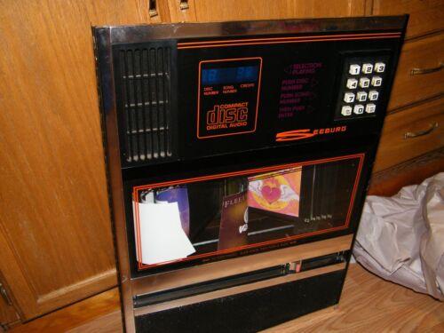 SEEBURG LASER STAR CD JUKEBOX LEFT SIDE TITLE PAGE WITH KEYPAD SCD-1