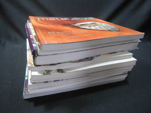 Jewelry Instruction and Information Books Soft Cover -You Pick- Read Listing