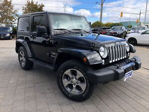 2017 Jeep Wrangler SAHARA**LEATHER**NAVIGATION**