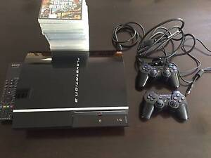 PS3 80GB with 13 Games, 2 controllers, 1 remote Sheidow Park Marion Area Preview