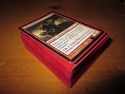 Red Infect Deck!!!! MTG, Magic The Gathering, Custom!!!!