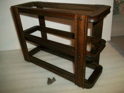 Singer Treadle Sewing Machine Drawer Frame Left Side Dark Finish