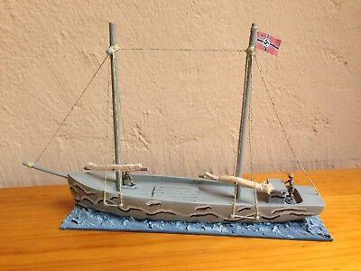ww2 Kriegsmarine german naval sailboat scale 1/72 - velero (montaplex airfix) segunda mano  Embacar hacia Argentina