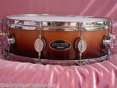 """PDP PACIFIC by DW MX SERIES 14"""" SNARE DRUM in TOBACCO BURST FOR SET LOT #M10 for sale  Shipping to Canada"""
