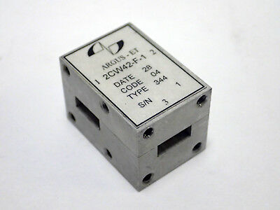 Argus-et 2cw42-f-1 Broadband Waveguide T-junction Circulator Wr-42