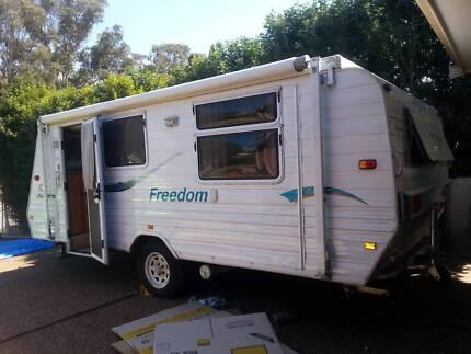 Jayco freedom poptop caravan Minchinbury Blacktown Area Preview