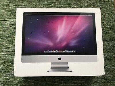 "Apple iMac A1312 27"" Desktop - MB953B/A (October, 2009) 2TB HDD 16GB RAM Boxed"