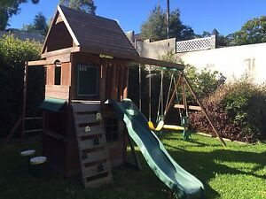 Cubby house with slide and swings Padstow Bankstown Area Preview