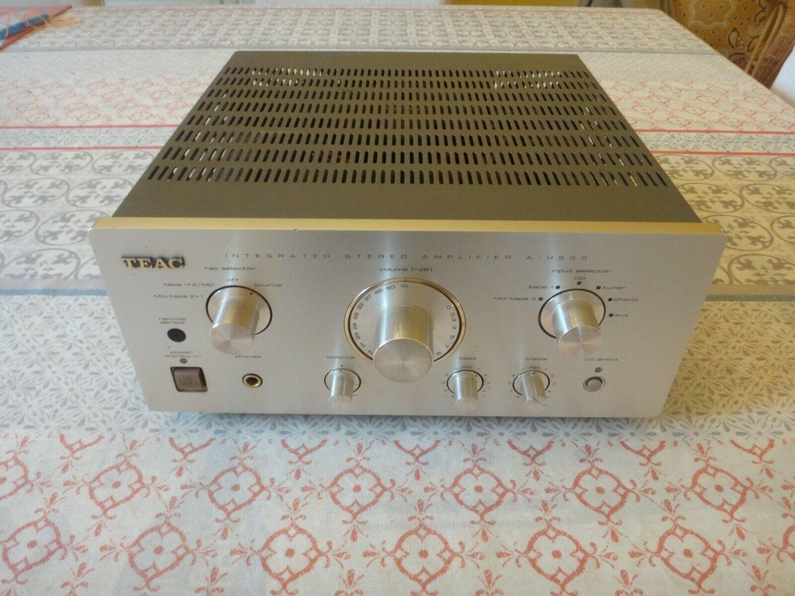 Amplificateur teac a-h500