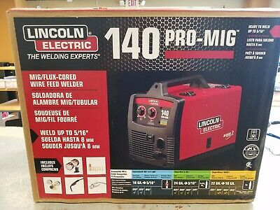 Lincoln-electric 140 Pro-mig Wire Feed Welder K2480-1