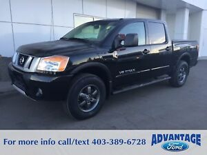 2015 Nissan Titan PRO-4X PRICE DROP! Accident-Free. V8.