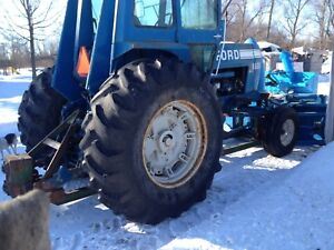 8600 Ford with 9 foot blower