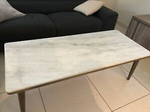 Early Settler Marble Top Table