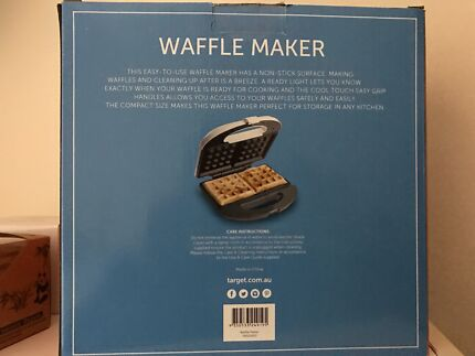 NEW! Double Waffle maker