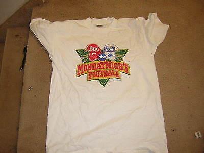 Monday Night Football T Shirt 1989 Xl Budweiser Bud Light Vintage Abc