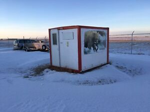 Fishing Shack  located in Melfort.