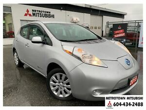 2015 Nissan Leaf S, Low Kms