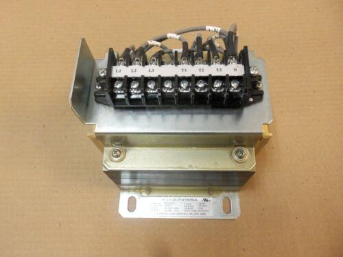 Tamura Electronics Transformer 3P212782-1 460V-398V 1.87 AMP Class:180(H)