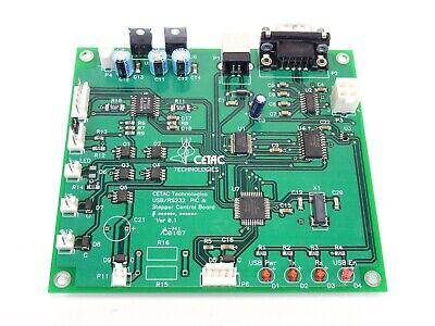 Cetac Technologies Usbrs232 Pic Stepper Control Board