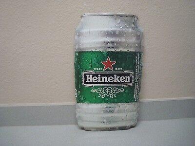 """""""HEINEKEN BEER CAN KEG """" Metal Sign 11 """" x 20 """"   Bar Pub Signs"""