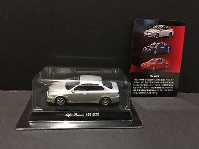 Kyosho 1/64 Alfa Romeo Collection 2 Diecast Miniature Car Model 156 GTA Silver