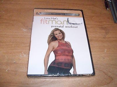 Natural Journeys Leisa Hart's Fit Mama Prenatal Workout (DVD, 2003) NEW