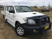 2011 Toyota Hilux SR 4x4 Dualcab Traytop Ute.D-4D Turbo Diesel Inverell Inverell Area Preview