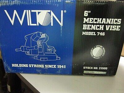 Wilton Mechanics Bench Vise 6 Jaw With Swivel Base - Model 746 21500 - New