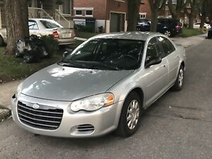 2005 Chrysler Sebring 4DR Sedan  90,000km
