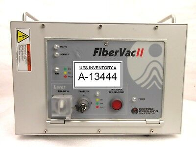 Particle Measuring Systems 659510-100 Laser Control Unit Fibervac Ii Amat Used