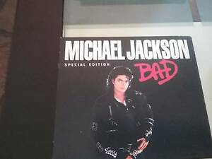 Michael jackson cd bad limited edition Leanyer Darwin City Preview