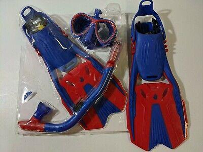 Body Glove Youth Aquatics Snorkel Set With Gear Bag L//XL Large XLarge OPEN BOX