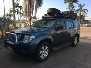 2006 Nissan Pathfinder 4x4 with Rooftop Tent and WA Rego