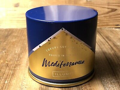 Illume Mediterranean Vanity Soy Candle 11.8 oz Discontinued Scent Rare NEW