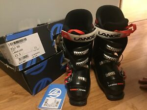 LANGE Youth downhill ski boots SIZE 23.5