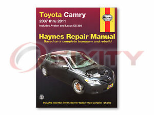 2007 toyota camry repair manual ebay. Black Bedroom Furniture Sets. Home Design Ideas