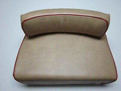 Seat Cushions For Massey Harris 50 Farm Tractor New Tan With Red Piping Color