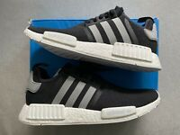 Adidas NMD R1, Black Charcoal, Size 11 Deadstock