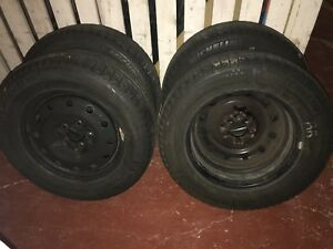 Michelin X-Ice Winter Tires with Rims