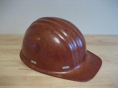 Vintage Soviet Ussr Protective Construction Builder Miner Helmet Donbas 60s