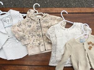 Girls toddler sweaters 12months-size 2