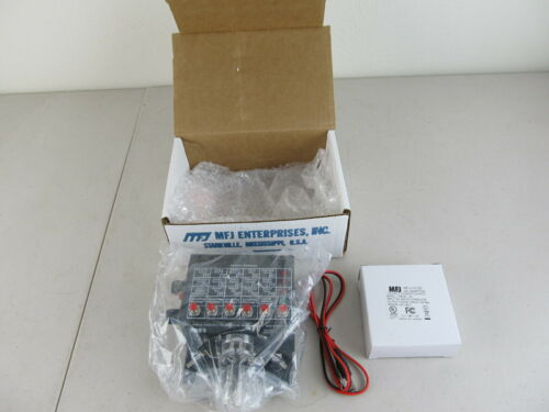 MFJ-490 Menu Driven Memory Keyer New, Open Box w/ Power Adapter