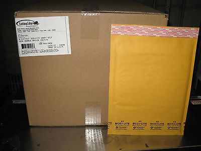 100 2 Ecolite Kraft Bubble Mailers 8.5 X 12 W Free Shipping - New Price