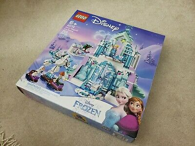 *Disney's Frozen 2* LEGO 43172 Princess Elsa's Magical Ice Palace New Ship Fast