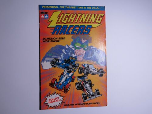 Lightning Racers - Promotional Comic 1989 Slick Cover